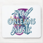 New Orleans Music Mousepad