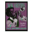 New Orleans Music postcard