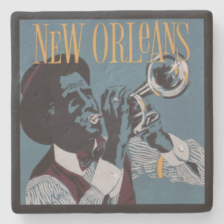 New Orleans Music stone coasters