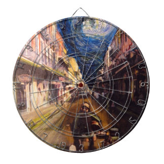 New Orleans Musician 2006 Dartboard With Darts