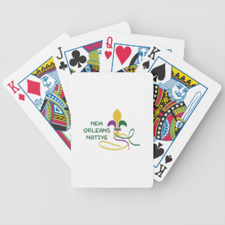 NEW ORLEANS NATIVE BICYCLE PLAYING CARDS