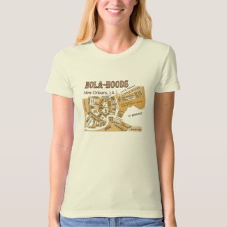 New Orleans Neighborhoods Map, NOLA_HOODS T-Shirt