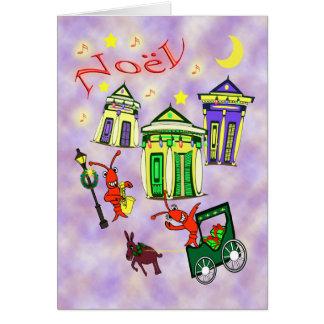 New Orleans Noël Christmas Greeting Card