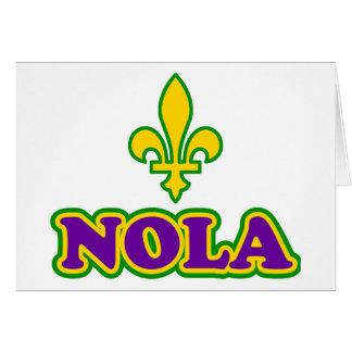 New Orleans NOLA Card