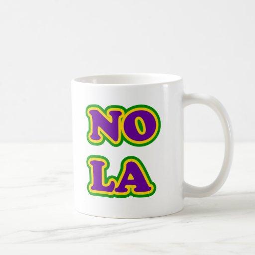 New Orleans NOLA Classic White Coffee Mug