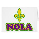 New Orleans NOLA Felicitacion
