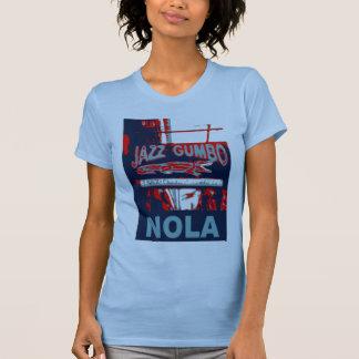 New Orleans Nola Jazz Gumbo T-Shirt