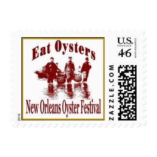New Orleans Oyster Festival stamp