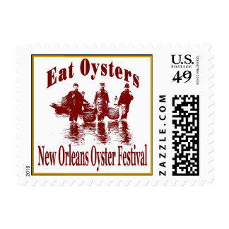 New Orleans Oyster Festival Postage
