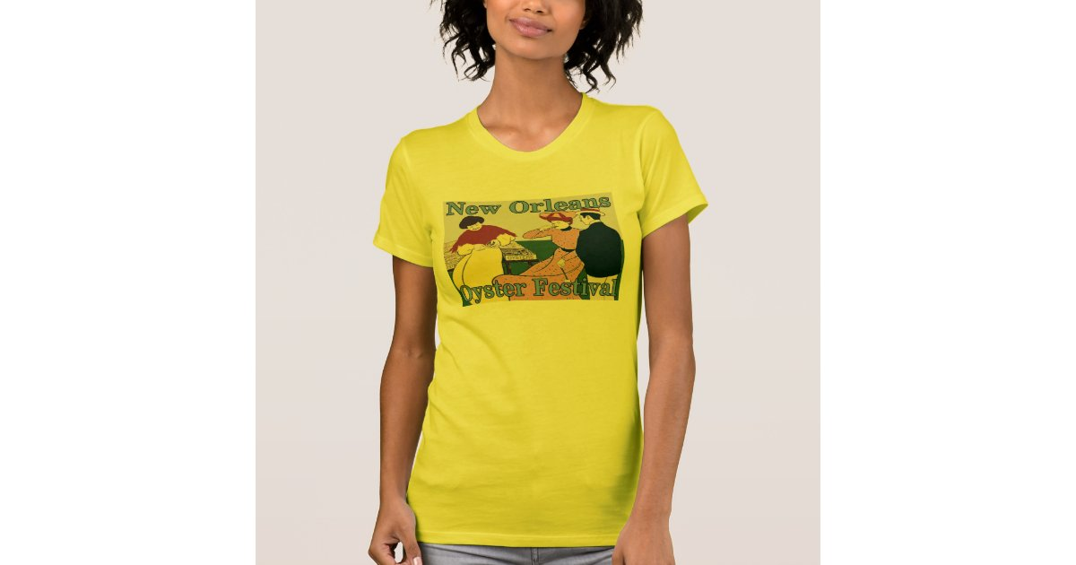 New orleans oyster festival t shirt zazzle for T shirt printing new orleans
