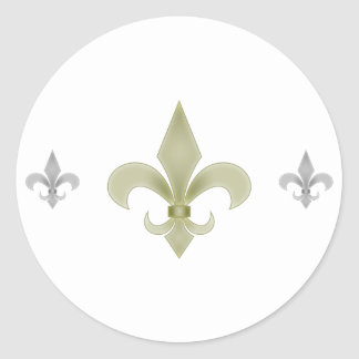 New Orleans Pegatinas Redondas