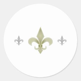 New Orleans Pegatina Redonda