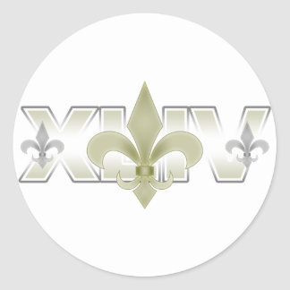 New Orleans Etiqueta Redonda