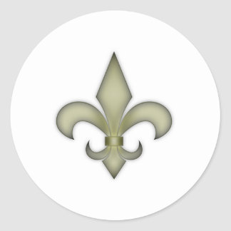 New Orleans Etiquetas Redondas