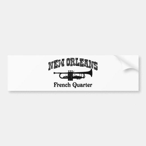 New Orleans Pegatina De Parachoque