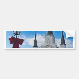 New Orleans Pegatina Para Auto