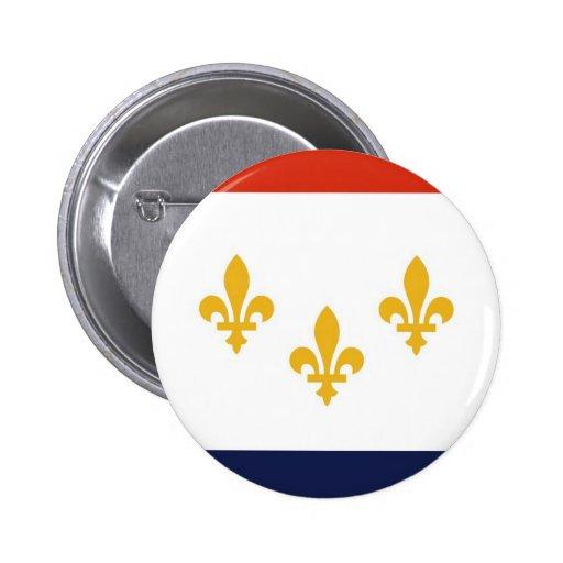 New Orleans Pin Redondo De 2 Pulgadas