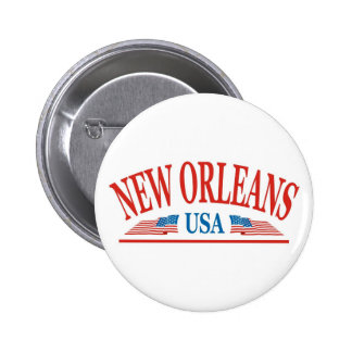 New Orleans Pinback Button