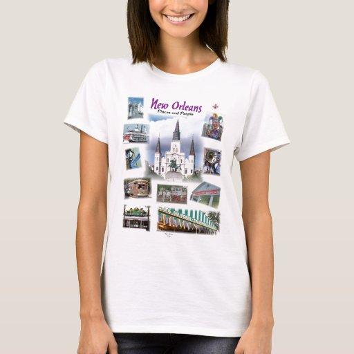 New Orleans Places People Shirt Zazzle