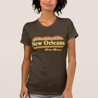 New Orleans Po Boy T-Shirt