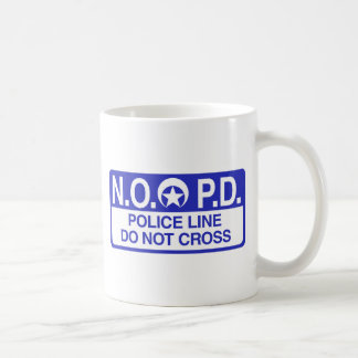 New Orleans Police Coffee Mug