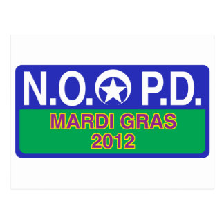 New Orleans Police Postcard