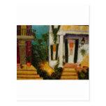 New Orleans Porches Postcard