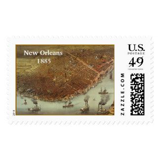 New Orleans Postage Stamp