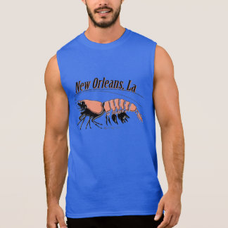 New Orleans Prawn Muscle Shirt