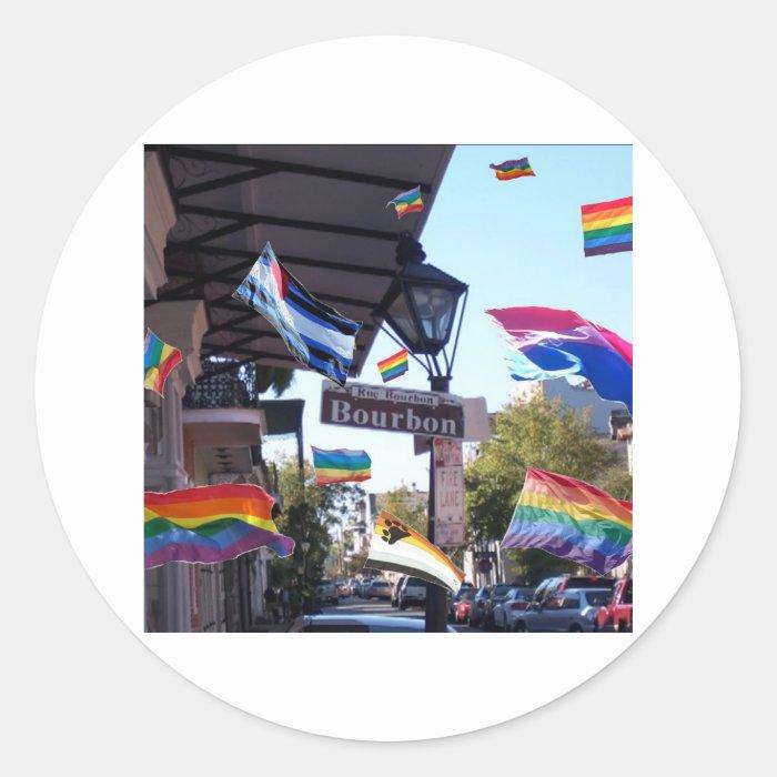 New Orleans Pride Classic Round Sticker