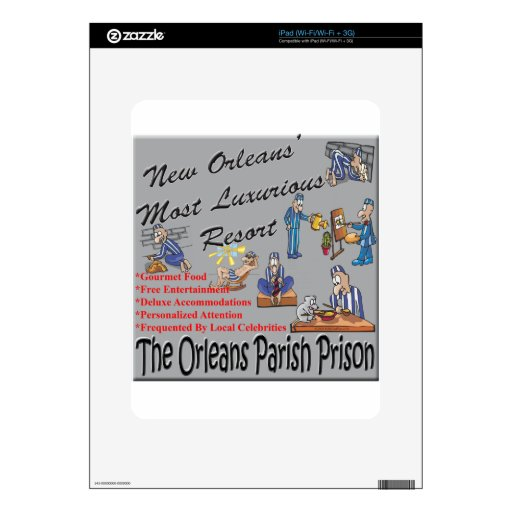 New Orleans Resort.png Decal For The iPad
