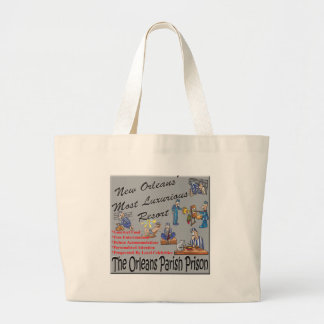 New Orleans Resort.png Large Tote Bag