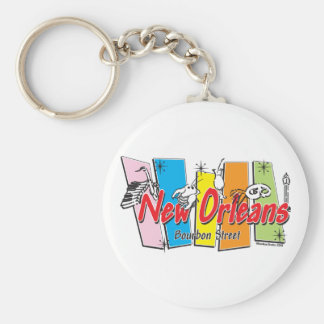 New-Orleans-Retro Keychain