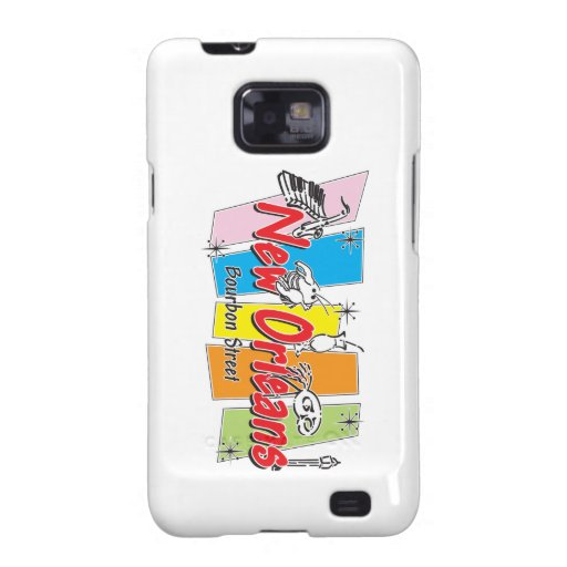 New Orleans Retro Look Galaxy SII Cover