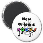 New Orleans Rocks Refrigerator Magnets