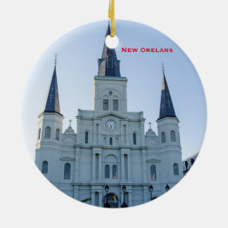 New Orleans Scenic Circle Ornament