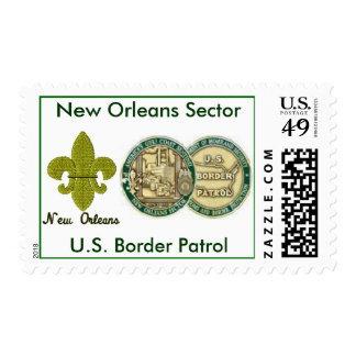 New Orleans Sector BP Postage Stamp