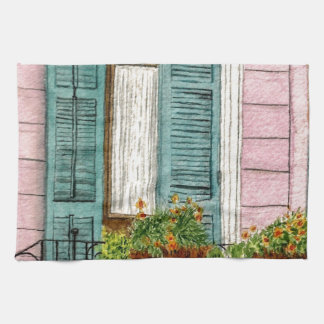 New Orleans Shutters Hand Towel
