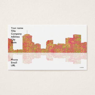 New orleans skyline business cards templates zazzle new orleans skyline business cards reheart Images