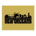 New Orleans Skyline Postcards