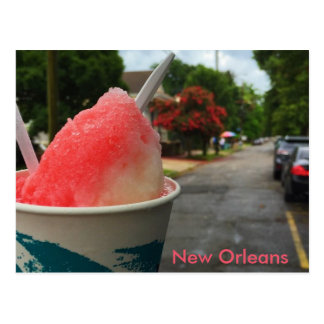New Orleans Snoball Postcard - Summer in NOLA!
