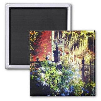 New Orleans Spring Fridge Magnet