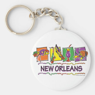 NEW-ORLEANS-SQUARES-eps copy Keychain