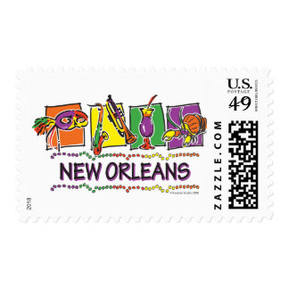 NEW-ORLEANS-SQUARES-eps copy Stamp