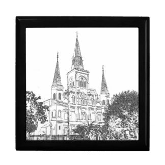 New Orleans St. Louis Cathedral Gift Box