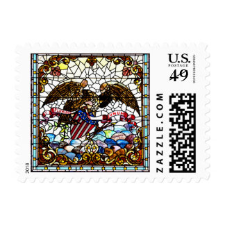 New Orleans Stained Glass 1881 Stamp