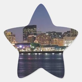 NEW ORLEANS STAR STICKER