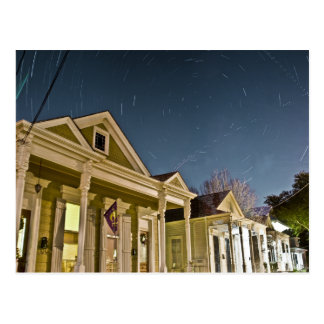New Orleans Star Trails Postcard