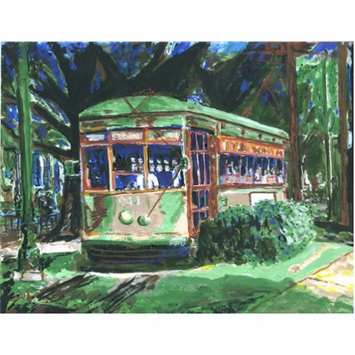 New Orleans Street Car Photo Cut Outs
