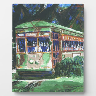 New Orleans Street Car Plaque